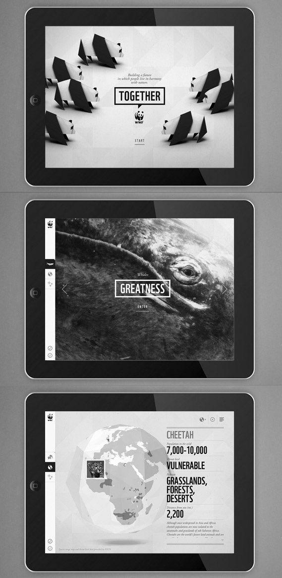 world wildlife foundation educational ipad app #ipad #tablet