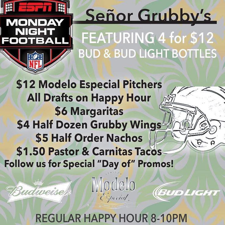 NEW SMOKED WINGS Half Dozen just $4 TONIGHT!! Try our Sriracha Honey sauce! #HotWings #MNF #NFL #Carlsbad #SenorGrubbys #CarlsbadCA #CarlsbadVillage #Oside #Oceanside #Encinitas #Vista #Football #HappyHour #LiveLifeSpicy by senorgrubbys