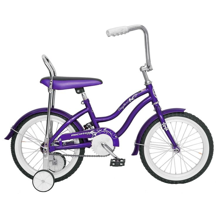 Micargi Taylor Girls' Bike with Training Wheels