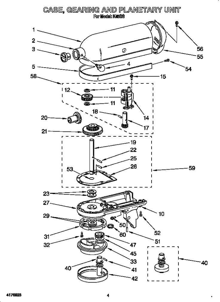 7efb640a762dbe5a6be513acc74a3311 diy stuff organization best 25 kitchenaid mixer parts ideas on pinterest kitchen aid kitchenaid mixer wiring diagram at honlapkeszites.co