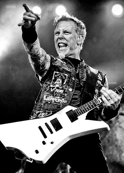 James Hetifield - Metallica...This Man Is SO Multi-Talented & Can Tear That Guitar Up On Any Genre of Music...Love Him!!