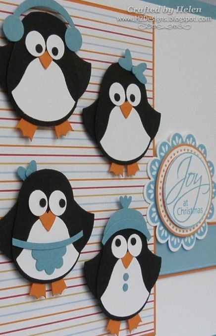 penguins made from owl punch