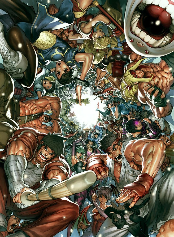 UDON's Art of Capcom 2 Cover by ~NgBoy on deviantART