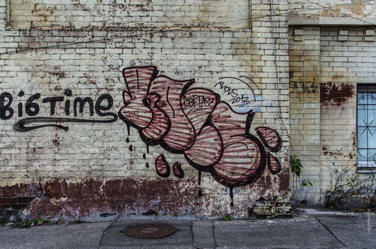 Moscow, graffiti