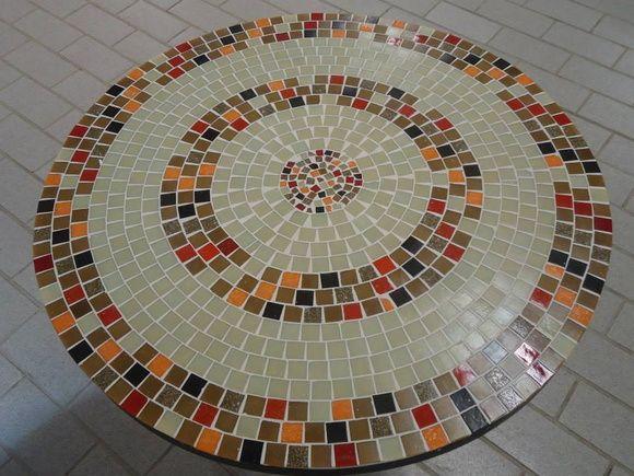 Tampo de mesa mosaico | Myo Atelier Decoração e Arte | Elo7