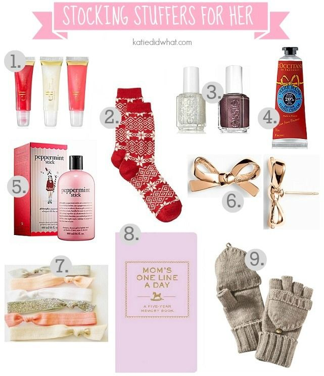 Stocking Stuffers for Her | | gift ideas for women | Christmas gift ideas for women | holiday gift ideas for women || Katie Did What