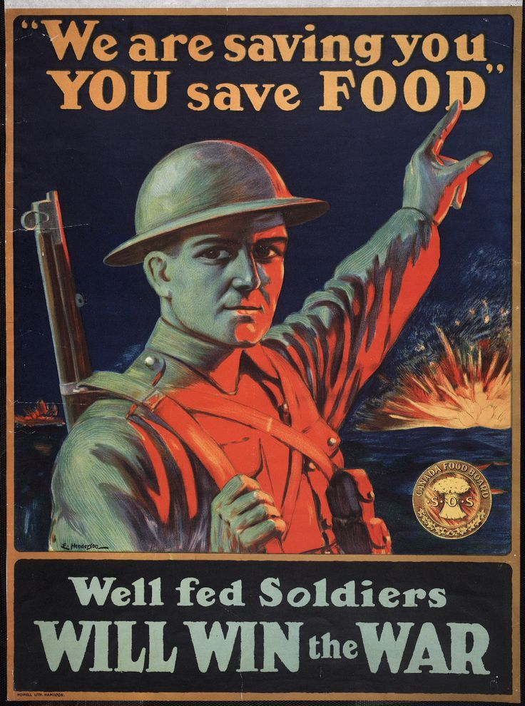 Above is a war poster from WW2. It's credible because it was found on a Canadian government website with many archived war posters. The Dust Bowl destroyed crops, and many of the farmers enlisted in the war, So, the women had to take over the farms and try to save the crops and harvest as much food as possible. Thus the poster is showing that as soldiers fight to save the lives of citizens, anyone who's capable must save the food at home. This changed the lives of Canadians because women…