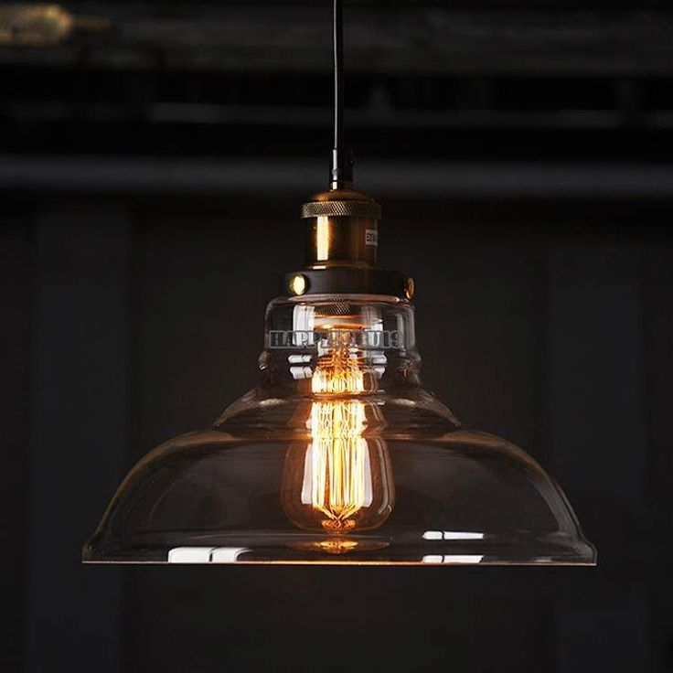 Details about new diy led glass ceiling light vintage for Diy edison light fixtures