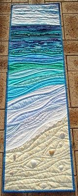 Mumsyblossom's World: By the Sea quilt.