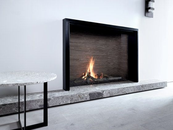 Unique L MF 1300-95 GHE 1S by Metalfire | Ventless gas fires