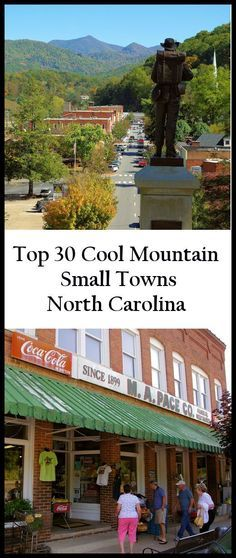 See our favorite 30 small towns near Asheville, North Carolina, in the Blue Ridge Mountains