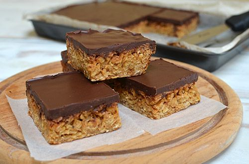 Chocolate Flapjacks