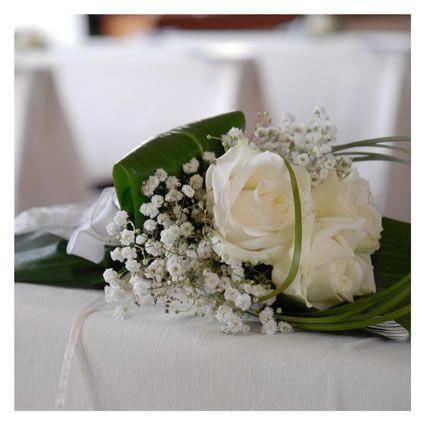 fiori matrimonio chiesa bianchi e rosa - Cerca con Google