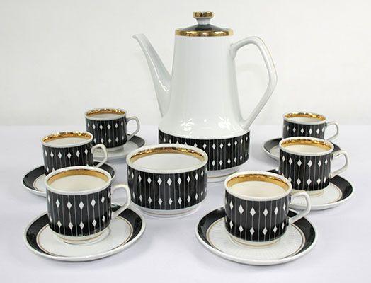 Serwis Kawowy Chodzież Lata 60-te Design