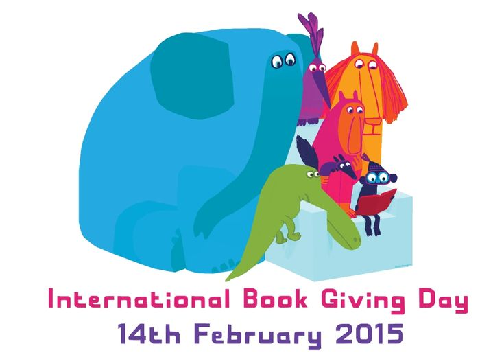 Chris Haughton designs International Book Giving Day's official poster for 2015.