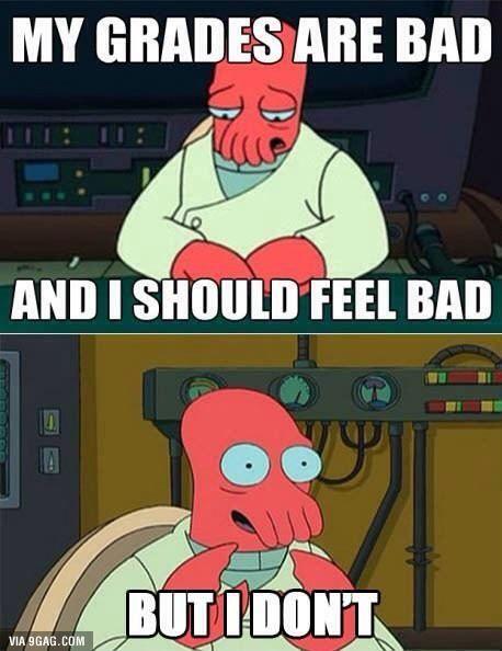How I feel after finals week...