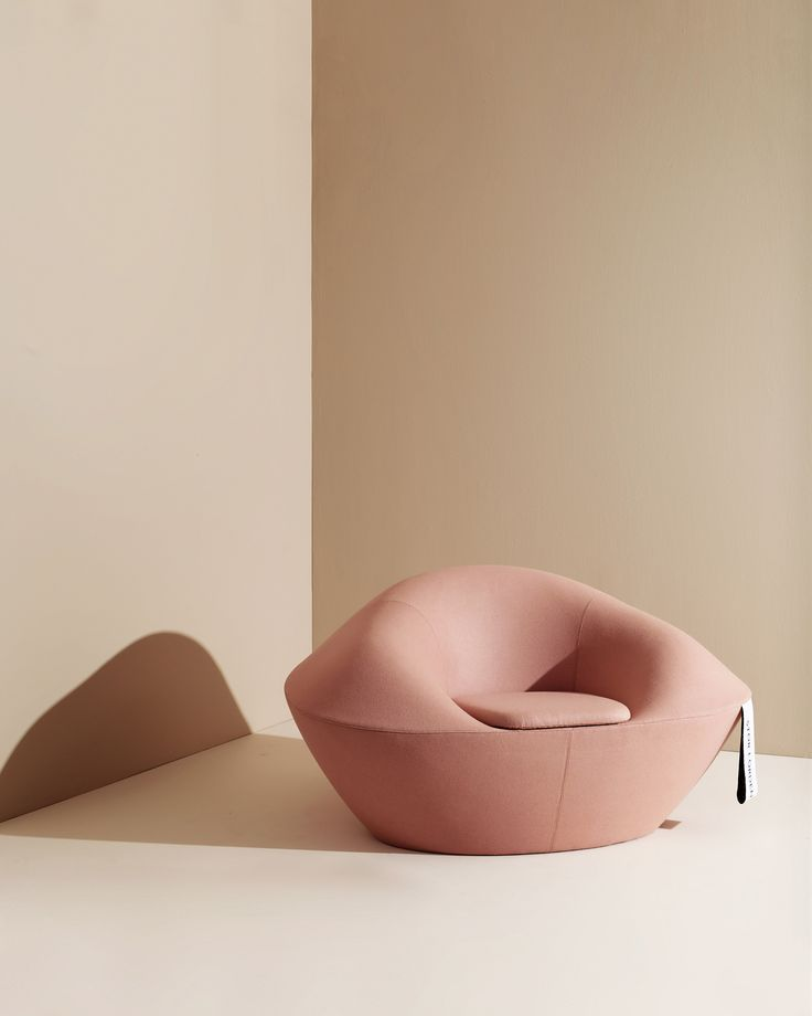 Fortune cookies inspired the Fortuna chair, designed by Hanna Stenström and Jennie Adén for Materia.