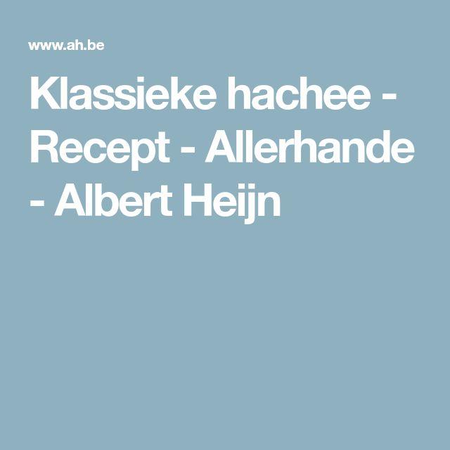 Klassieke hachee - Recept - Allerhande - Albert Heijn
