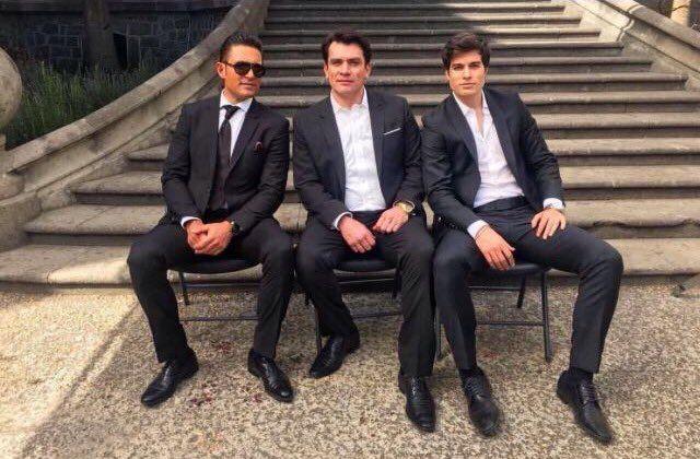 Eladio,Arturo y Franco