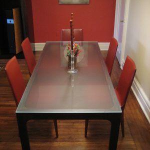 Dining Room Table Narrow Width