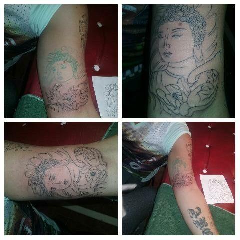 Buda tattoo