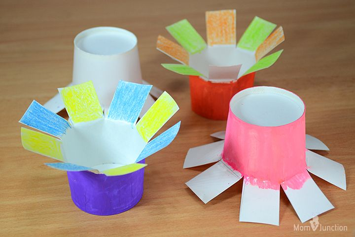How To Make Paper Flowers For Kids In 2020 Paper Flowers For