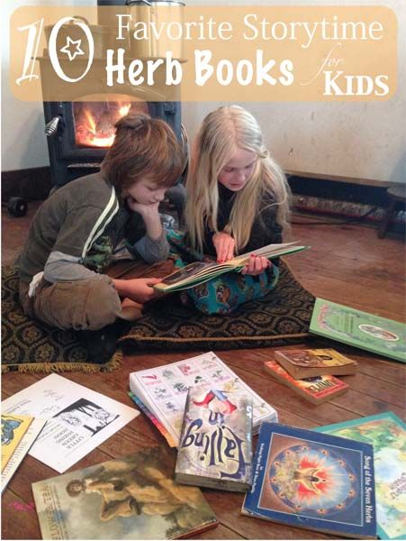 10 Favorite Storytime Herb Books for Kids at Herbal Roots zine. http://www.herbalrootszine.com/archive/2014/11/herbal-rootlets-no-27-10-favorite-herb-books-for-kids/