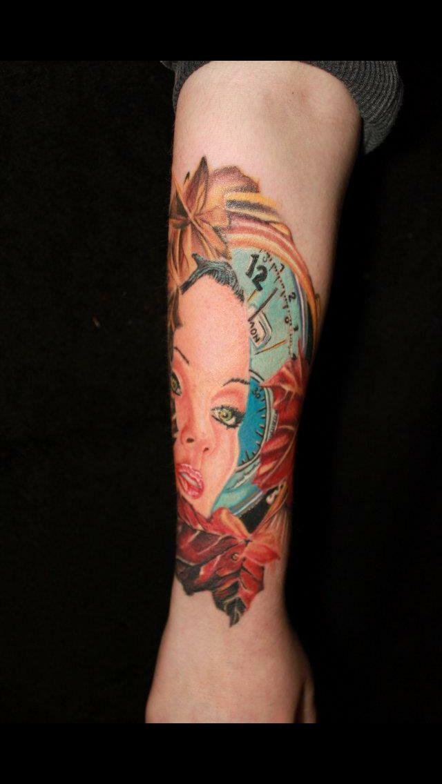 Tattoo by Ash langner Warrington 01925-241734