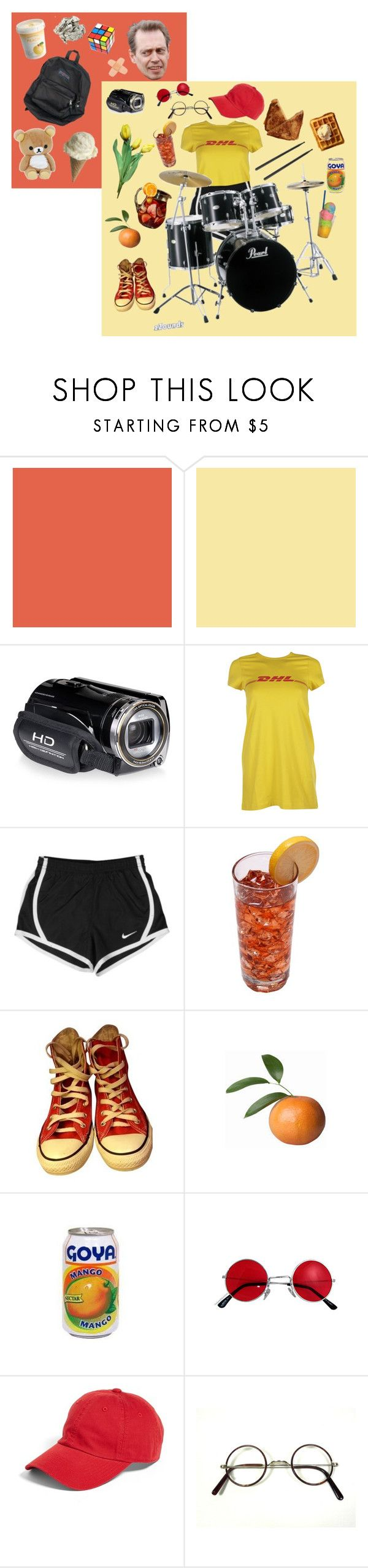 """""""hurley in pink"""" by cripplingstump ❤ liked on Polyvore featuring Vetements, BUSCEMI, NIKE, Converse and American Needle"""