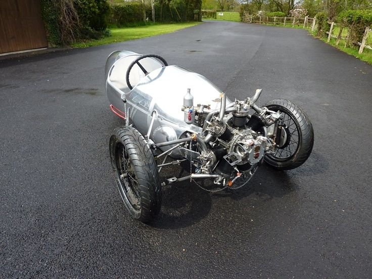 3 Wheeler radial engine