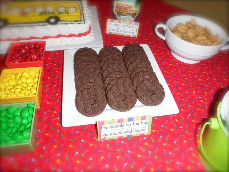School Bus Party Birthday Ideas