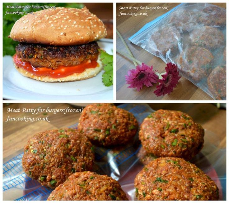 The best burger meat patty I ever made, awesome flavour and just melts in your mouth. I made them and then freeze so its easy to serve them when ever I want
