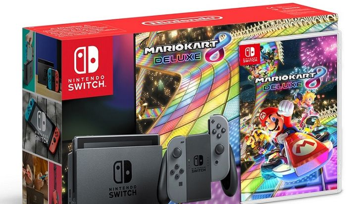 Mario Kart 8 Deluxe Switch bundle leaks on Russian Nintendo store ahead of Direct