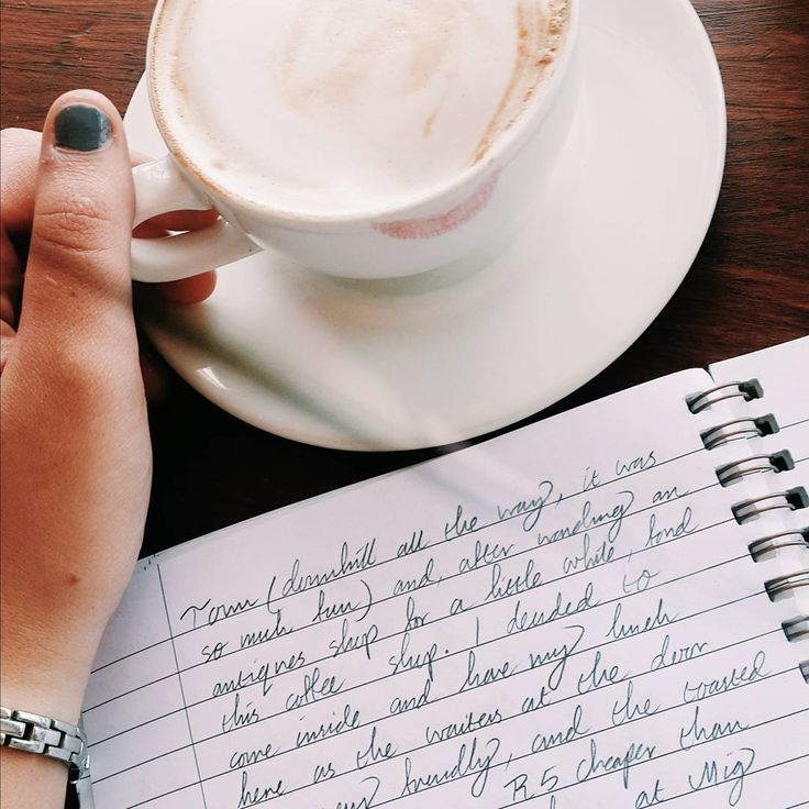 Writing has become not only a record of experience, but a part of experience itself. #shecraftswords #nonartpost   _  #aesthetic #writing #journaling #journalaesthetic #coffeeaesthetic #coffeejournaling #coffeeshop #lipstickstain #cafeaesthetic #tumblr #sotumblr #tumblrcoffee