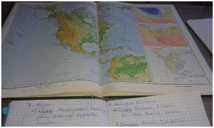 Jak się uczysz geografii, użyj ATLASU