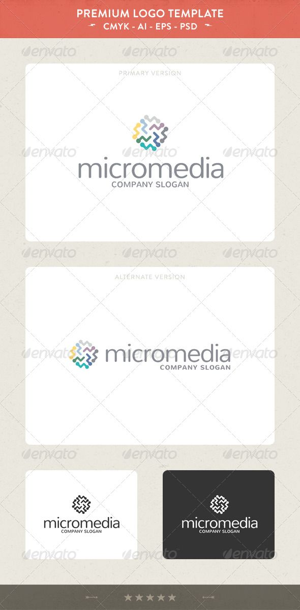 Micromedia  #GraphicRiver         Micromedia: a logo that can be used in technological companies in hardware development companies in Internet companies, agencies and study in media, among other uses. Its design is very simple and is easy to configure. This ready to print.    Customizable 100%   CMYK   AI – EPS – PSD   Font used Nunito      Created: 22May13 GraphicsFilesIncluded: PhotoshopPSD #VectorEPS #AIIllustrator Layered: Yes MinimumAdobeCSVersion: CS Resolution: Resizable Tags…