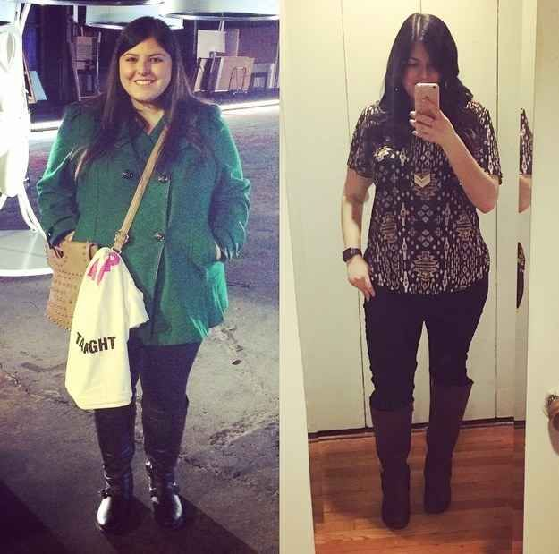 Hi  I  m Arielle  Between May 2015 and now  I  ve lost 85 pounds  dropped five sizes  ran a 10K  and learned a ton about healthy lifestyle changes