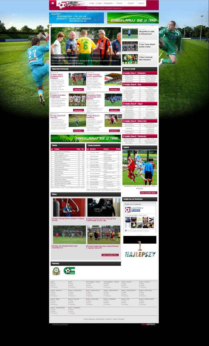Nasz pierwszy sportowy portal - LubuskiFubtol!