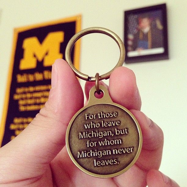For those who leave Michigan...