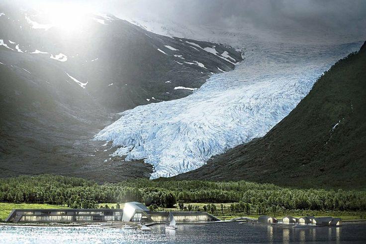 Svartisen opplevelsessenter. Norway