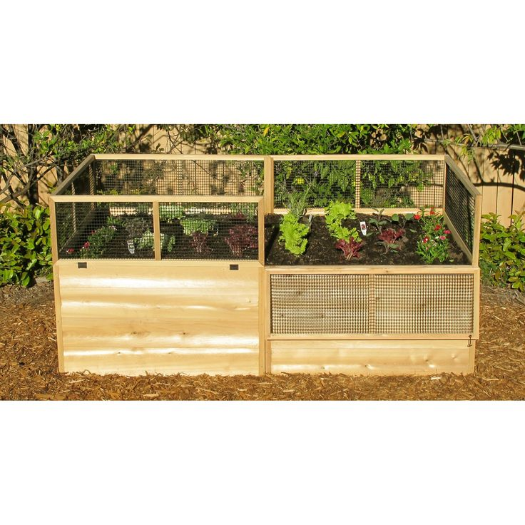 Raised Vegetable Garden Ideas raised bed vegetable gardengate and fence attached right to beds 25 Best Raised Vegetable Gardens Ideas On Pinterest Garden Beds Raised Garden Beds And Raised Beds
