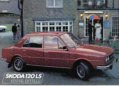 Skoda Super Estelle 105S 105L 120L & 120LS 1978-79 Original UK Sales Brochure