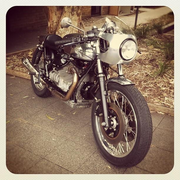Bondi Cafe Racer #atbondi #bondi #bike #caferacer #sydney