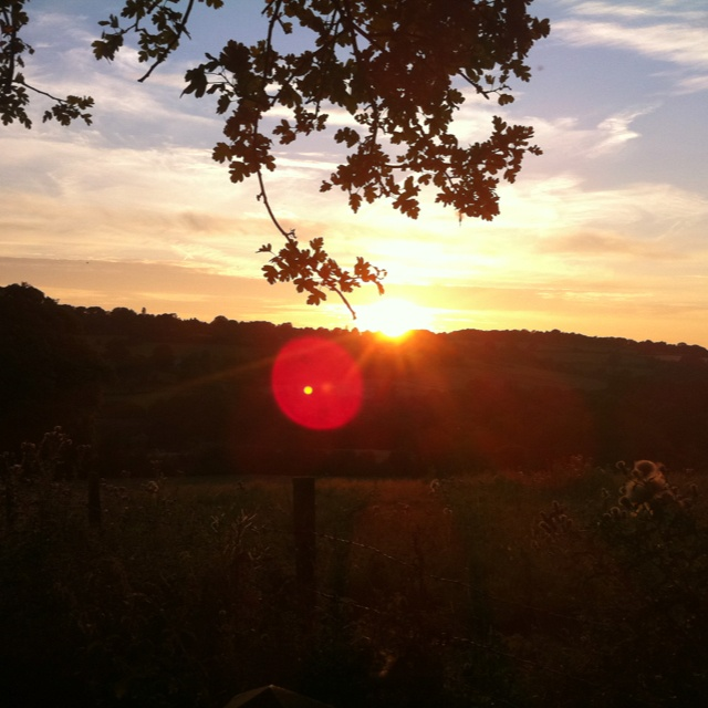 Sunset, Cotswolds
