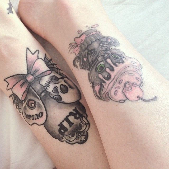 want the rip ouija board tattoo!