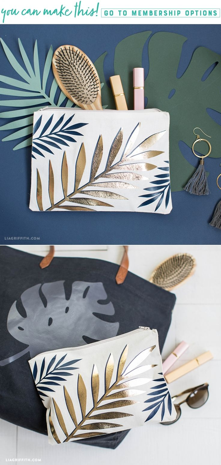 Leaf Your Worries Behind 🌴🌿✨ This tropical travel pouch is the perfect size for toting your valuables around. All you have to do for this easy breezy craft is iron this print onto your favorite canvas bag. Find the downloads you need here https://liagriffith.com/tropical-leaf-travel-pouch/⠀⠀⠀⠀⠀⠀⠀⠀⠀ *⠀⠀⠀⠀⠀⠀⠀⠀⠀ *⠀⠀⠀⠀⠀⠀⠀⠀⠀ *⠀⠀⠀⠀⠀⠀⠀⠀⠀ #tropical #tropics #travel #traveling #tote #totes #travelaccessories #makeup #diy #diyidea #diyideas #diycraft #diycrafts #diyproject #diyprojects #ironon #svg…
