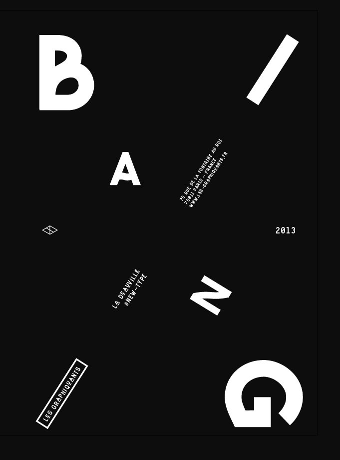©les graphiquants - 2013 - #poster #graphic #design #unquotedsheets