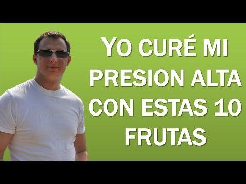 10 Frutas Para Bajar La Presion Alta - Un Delicioso Tratamiento - YouTube