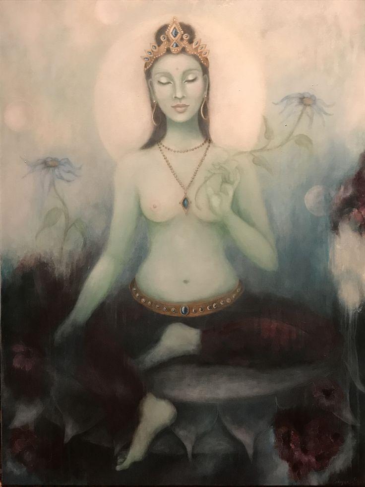 Green Tara by Asheyana Richards