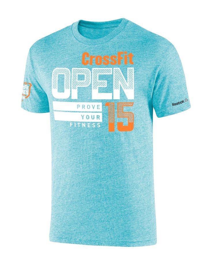 2015 Crossfit Open Tee Open Games Gear Crossfit Hq Store Camisetas Crossfit Crossfit Ropa Camisas